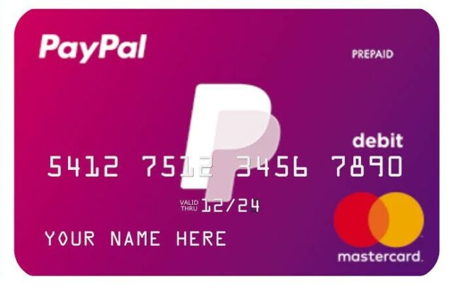 VCC PayPal Verification Credit Card For $20 ( Email Delivery ) THE BEST