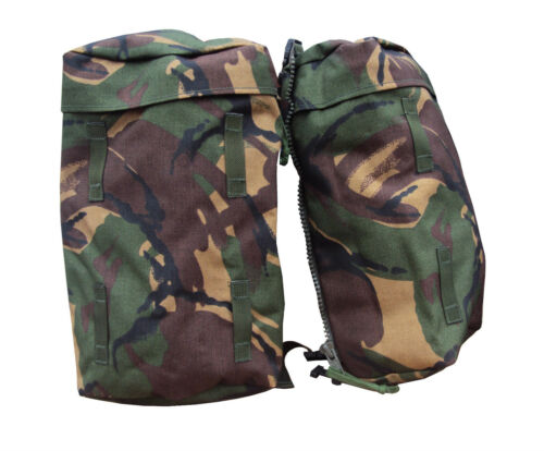 Grade 1 Condition British Army DPM CAMO BERGEN SIDE POCKETS // POUCHES