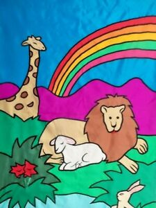 Lion-and-Lamb-Large-House-Flag-by-CBK-9140-Applique-Summer