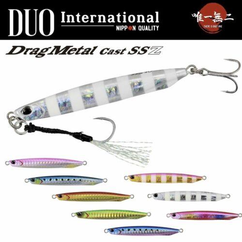 DUO INTERNATIONAL CASTING JIG LURE DRAG METAL CAST SUPER SLIM SSZ 20g
