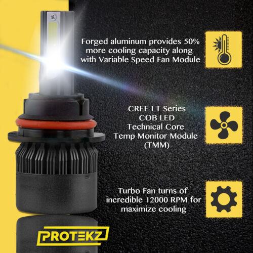 H7 LED Headlight Kit Plug/&Play 6K for 2013-2016 Hyundai GENESIS COUPE Low Beam