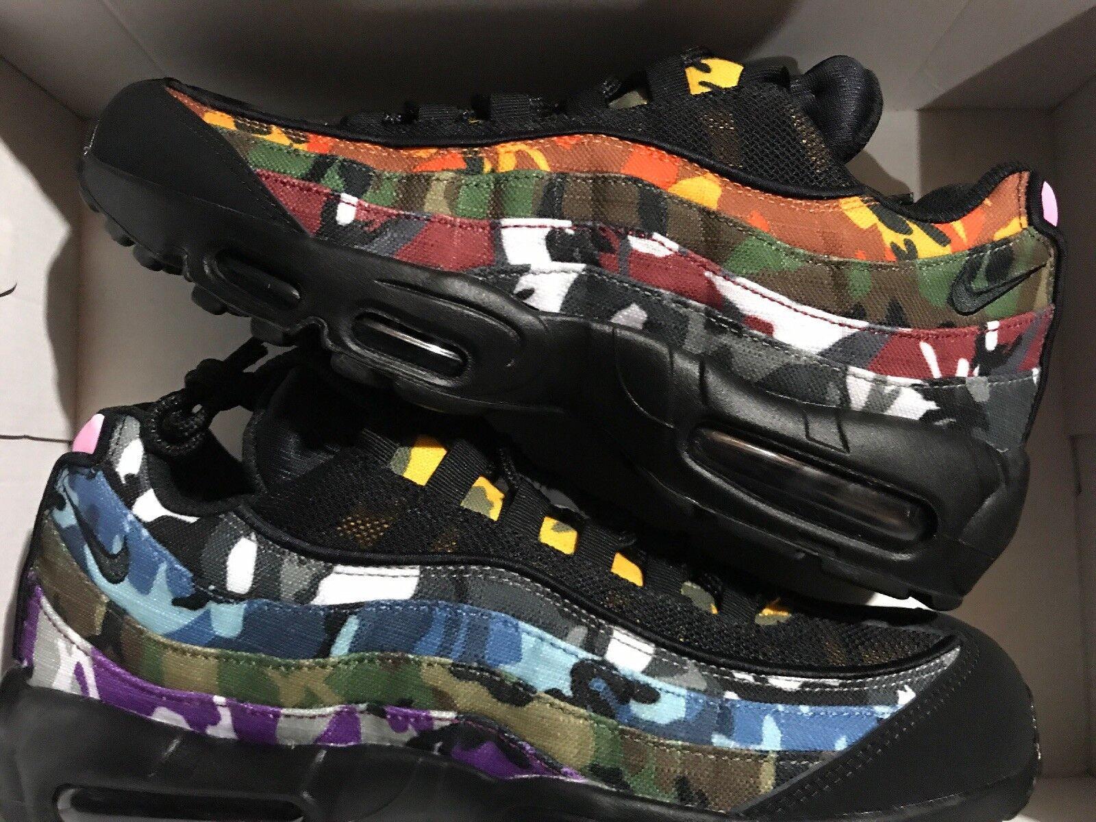 Nike air max - 95 erdl partei 13 multi - max farbe camo, was die ar4473-001 neue 073ce4