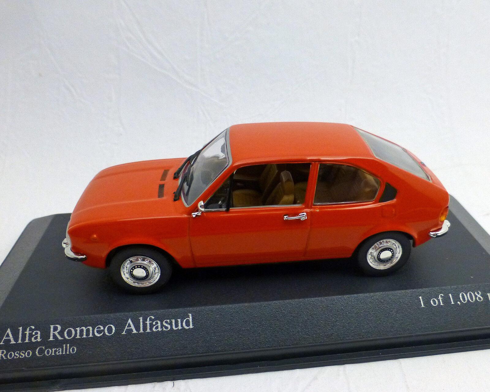 ALFA ROMEO  ALFASUD , Rosso, 1 43, Minichamps