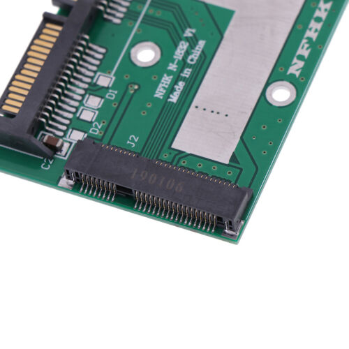 mSATA SSD to 2.5/'/' SATA 6.0gps adapter converter card module board mini pcie TEU