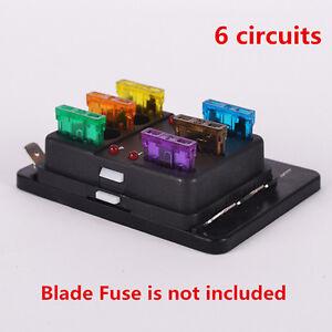 Way VV Car SUV Truck Van Circuit Standard ATO Blade Fuse Box - Porte fusible 12v