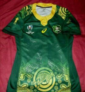 Maillot De Rugby De L'Australie De La Coupe Du Monde 2019 Taille M