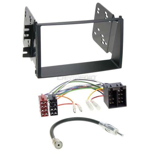 Kia Soul 08-10 2-din radio del coche Kit de integracion adaptador cable radio diafragma