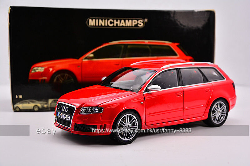 MINICHAMPS 1 18 AUDI RS4 Travel version Red