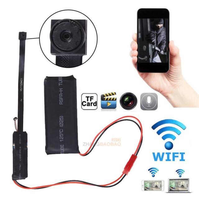wireless Mini WIFI IP DIY Hidden Spy Screw pinhole HD nanny Camera video DVR