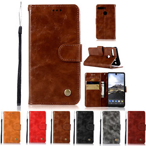 finest selection 80066 cfa05 Details about For Essential Phone PH-1 Shockproof Flip Leather Cover Cards  Stand Wallet Case