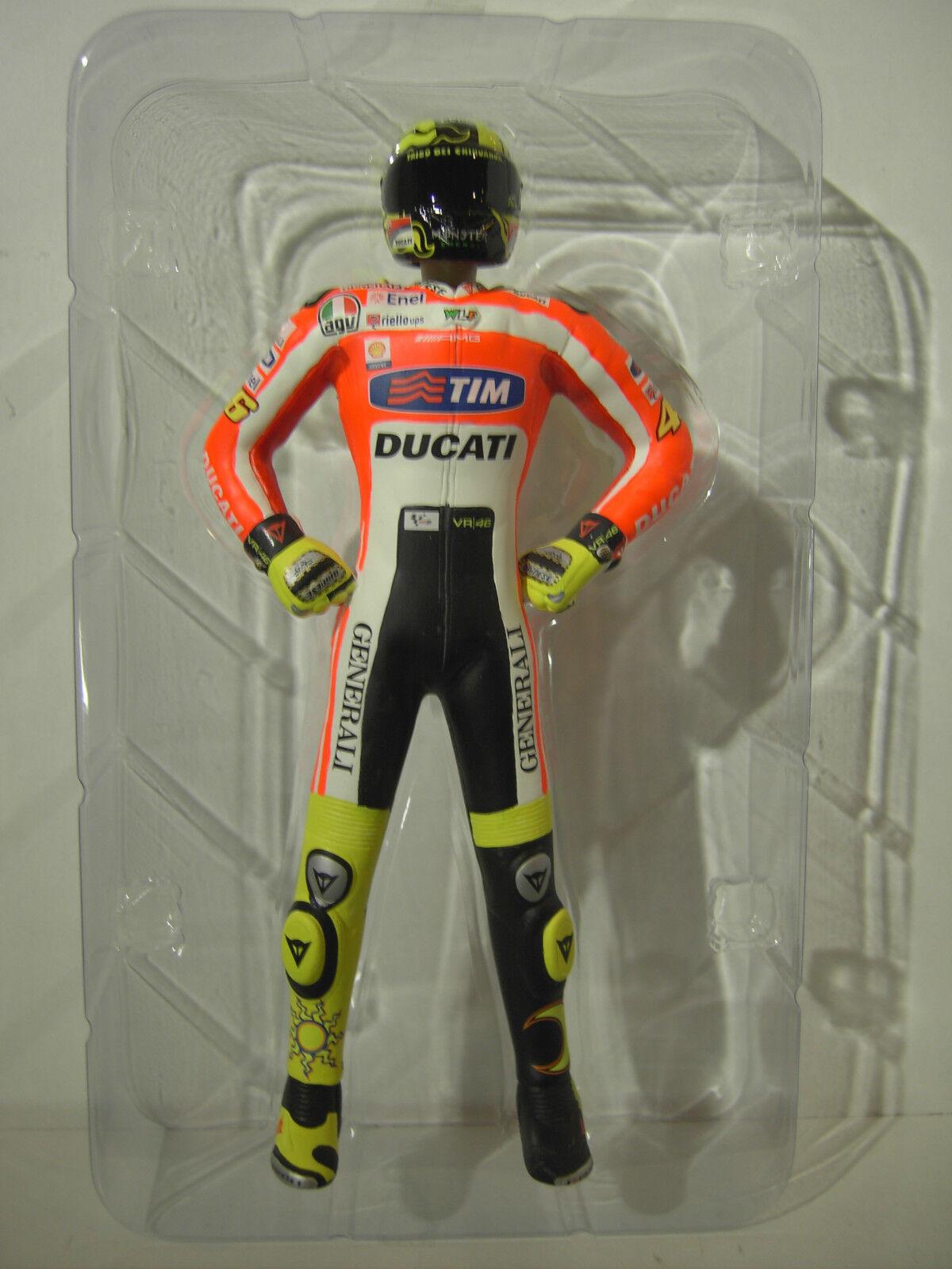 FIGURINE VALENTINO ROSSI UNVEILING 2011 pilote moto au 1 12 MINICHAMPS 312110846