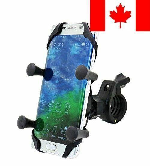 AntiShake Universal Bike Motorcycle Cell Phone Mount Holder for Smartphone & GPS