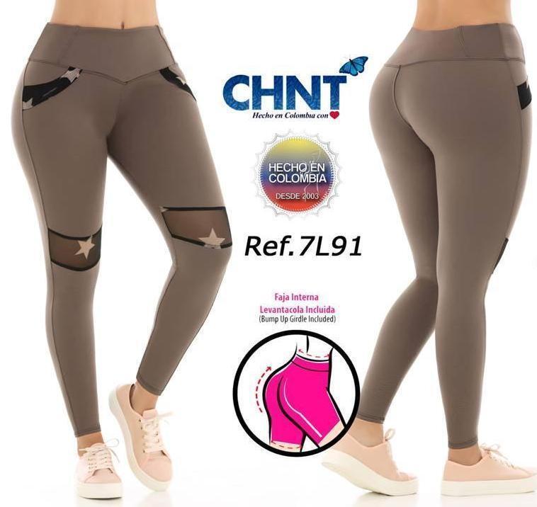 Leggings Levanta Cola Tummy Control CHNT 7L91