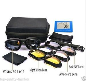 349a7a4eafc8 Image is loading Daisy-C5-Men-Military-Polarized-Army-Goggles-Sunglasses-