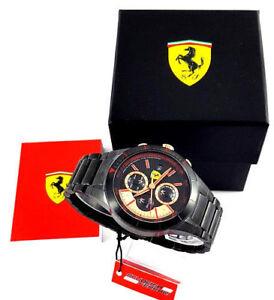 Ferrari Watch Redrev Evo Schwarz Herren 0830305 Ebay