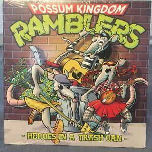 Possum Kingdom Ramblers Heroes In A Trash Can CD! Fun Sci-Fi Bluegrass!