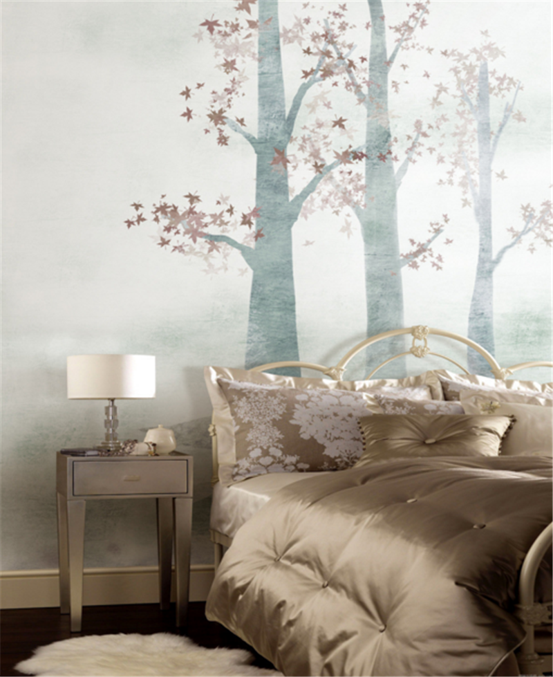 3D Tree Fog Paint 83 Wallpaper Mural Paper Wall Print Wallpaper Murals UK Carly