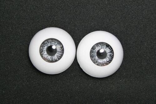 Bambola occhi reborn 22mm  bjd  OOAK RINATO baby doll semicircolare