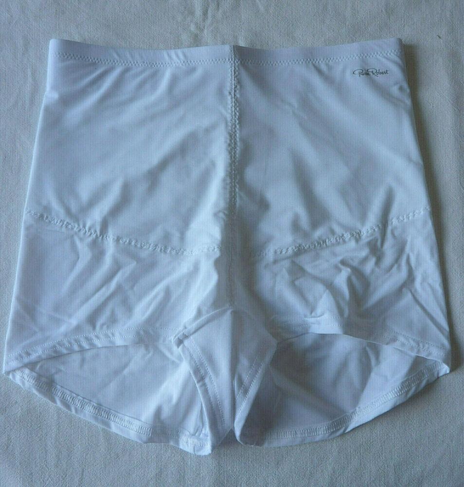 Boxer Gaine Femme Lingerie Culotte Amincissant Sous Vêtement Blanc Taille M Neuf