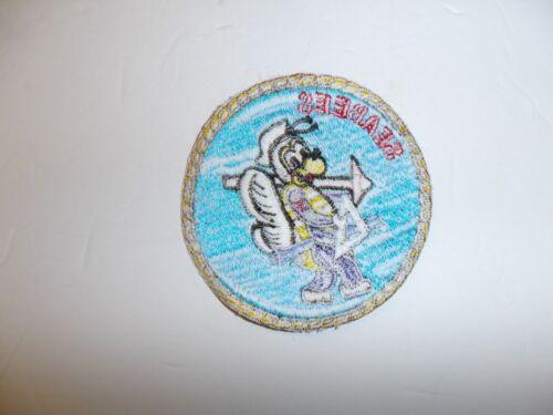 b3503 Korea US Navy Seabees pocket patch unofficial full machine IR34E
