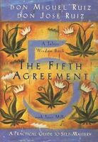 The Fifth Agreement: A Practical Guide To Self-mastery Paperback Don Miguel Ruiz on sale