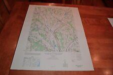 New York vintage 1940's Army topographic map,  Hamilton  New York