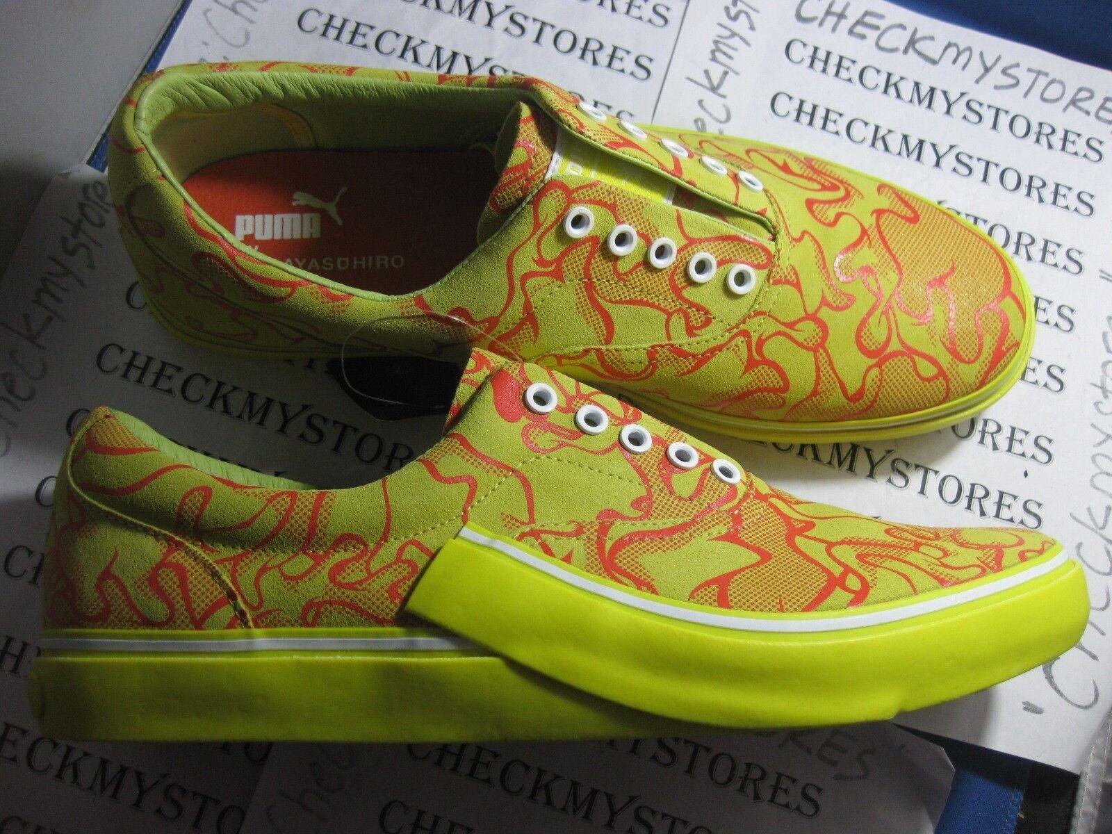 NIB MEW PUMA Mihara MY 61 Uncamo Yellow Fashion Casual Sport  Shoes Uomo
