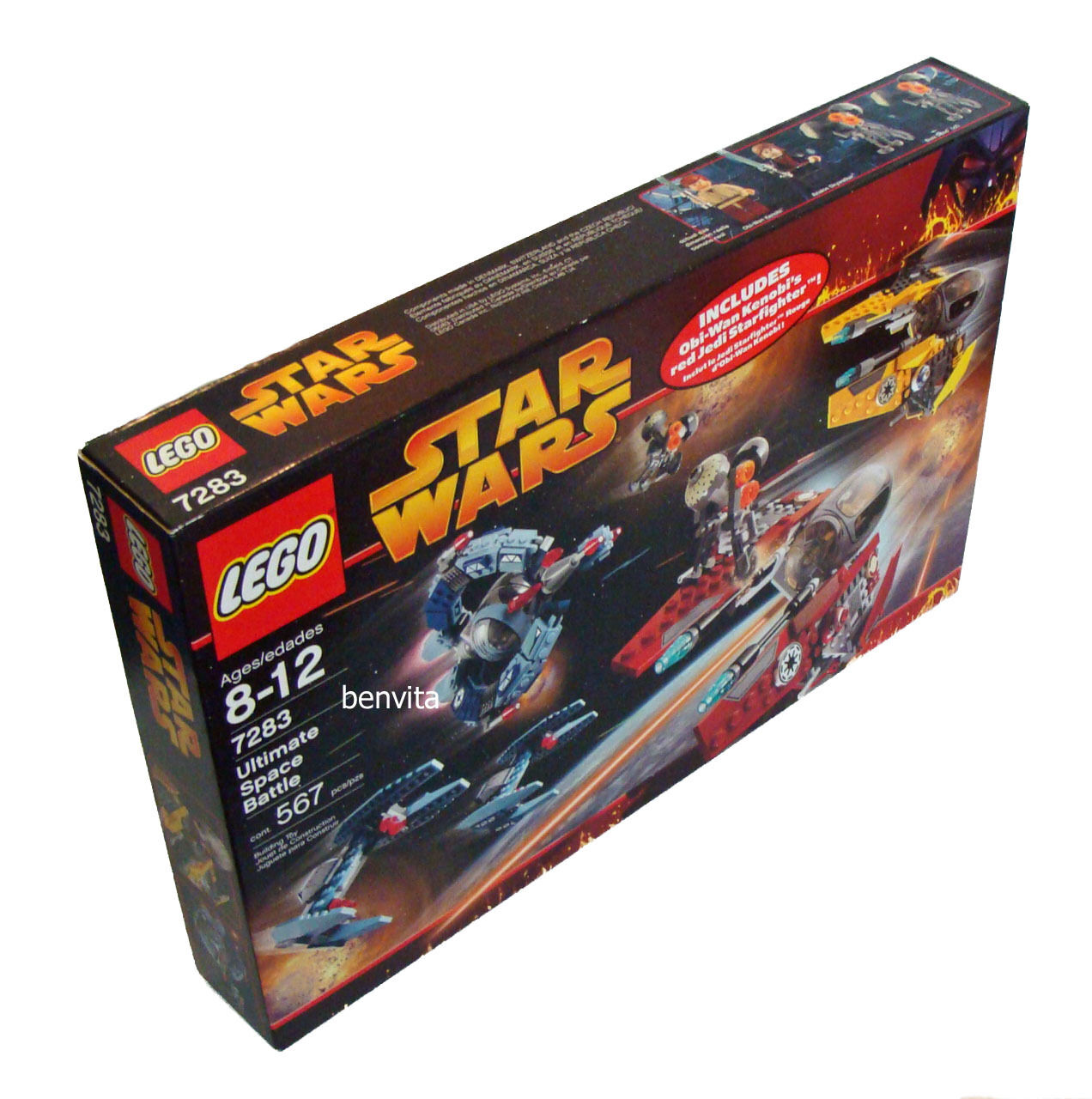Lego® Star Wars 7283 - Ultimate Space Battle 567 Teile 8-12 Jahren  - Neu