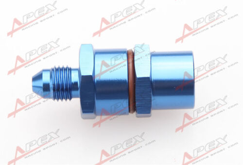 4AN Male To 4AN Female High Flow Billet Turbo Oil Feed Line Filter 150 Micron