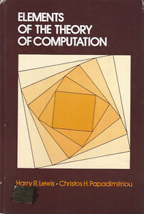 Elements-of-the-Theory-of-Computation-by-Lewis-and-Papadimitriou-1981-hardcover