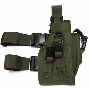 new airsoft mk23 usp tactical dropleg pistol holster utility pouch rh ebay co uk