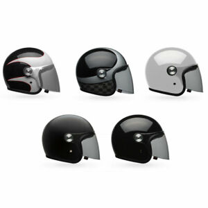2020-Bell-Riot-3-4-Open-Face-Motorcycle-Helmet-w-Shield-Pick-Size-amp-Color