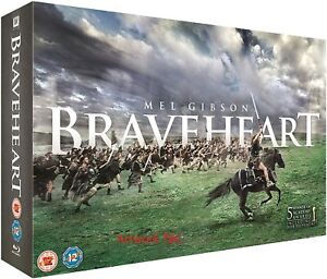 BRAVEHEART - LIMITED EDITION GIFT SET (2 BLU RAY +) NEW SEALED