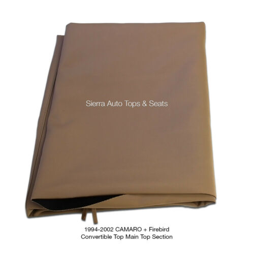 Chevrolet Camaro Convertible Top 94-02 in Tan Stayfast Cloth No Window