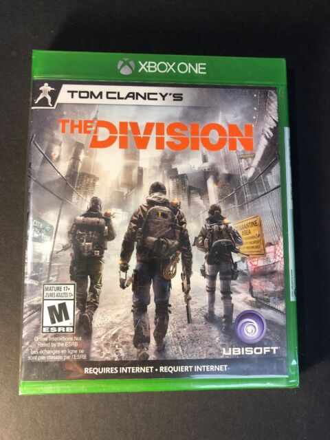 Tom Clancy's [ The Division ] (XBOX ONE) NEW