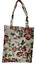 Indexbild 1 - Blumen Einkaufsbeutel Buschrosen Gobelin Shopper Einkaufstasche Umwelttasche