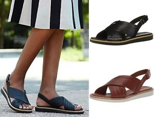 Loop Summer Sandals Leather Shoes