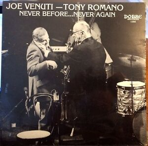 Sealed-JOE-VENUTI-amp-TONY-ROMANO-LP-034-Never-Before-Never-Again-034-Dobre-1979