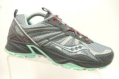 Details about Saucony Excursion TR8, Size 8,Trail Running Walking Sneakers Grey&Light Blue