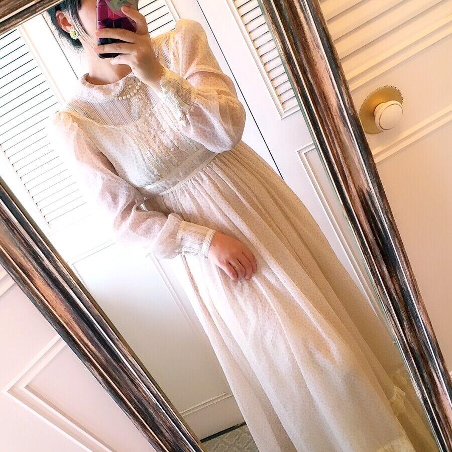ASIS RARE vintage GUNNE SAX floral  Prairie dress… - image 5