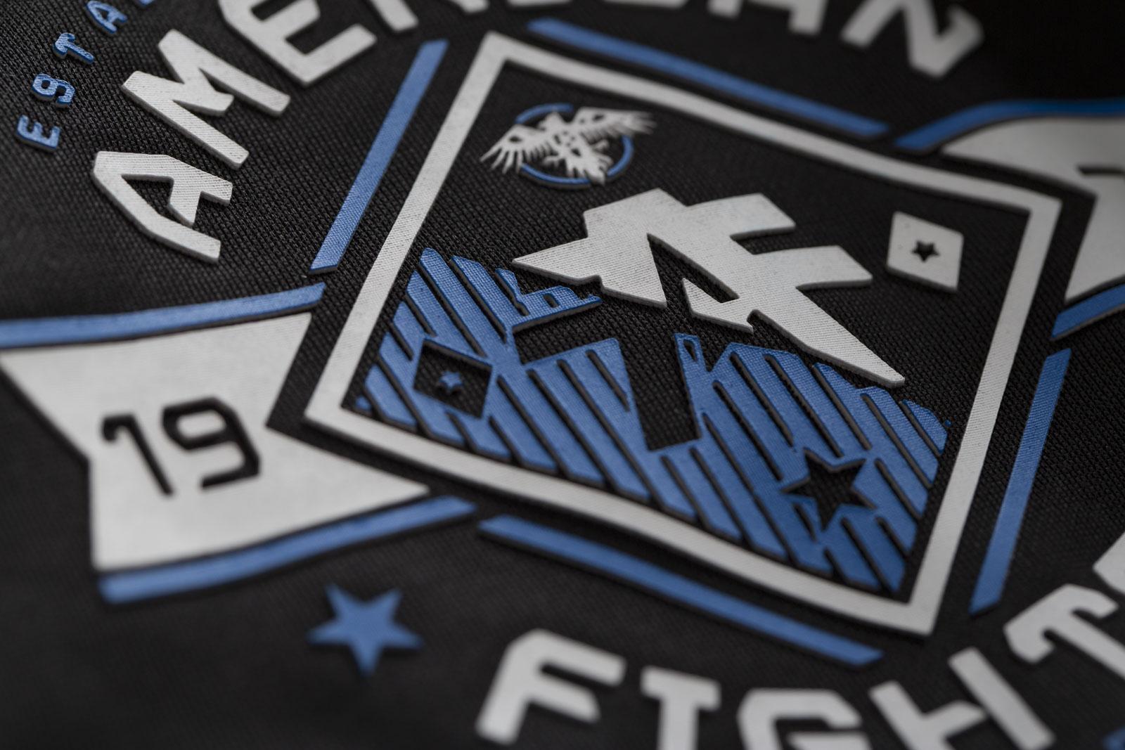 AMERICAN FIGHTER Affliction Track Jacket Full Full Full Back Schwarz Jacken d68eef