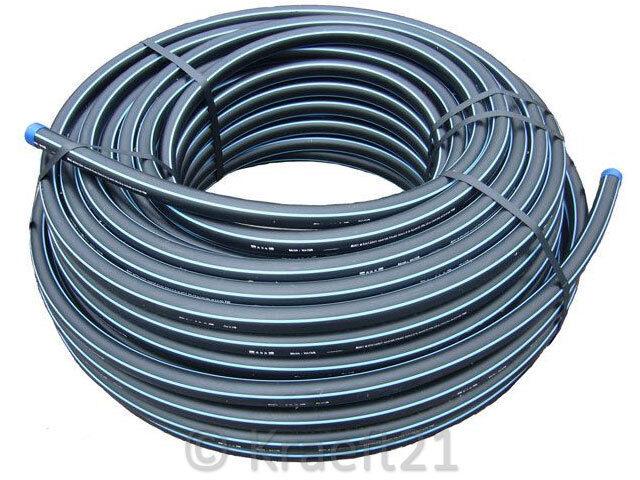 PE Rohr HD - PN12,5 - TRINKWASSER,DVGW, versch. Größen und Längen