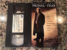 Primal Fear Vhs! 1996 Thriller! Seven Blood Simple Fracture Cape Fear Fargo