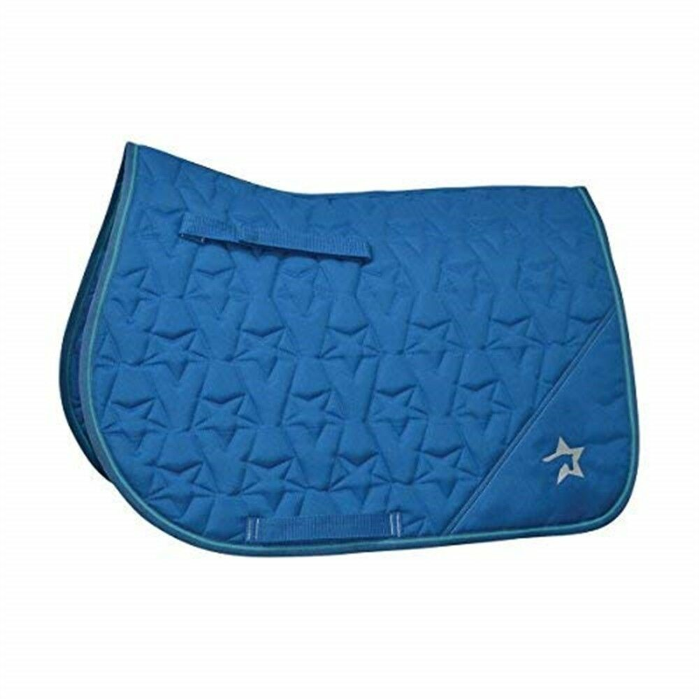 Hyspeed  Zeddy Saddle Pad - Cobalt bluee petrol bluee turquoise - Small Pony  deals sale