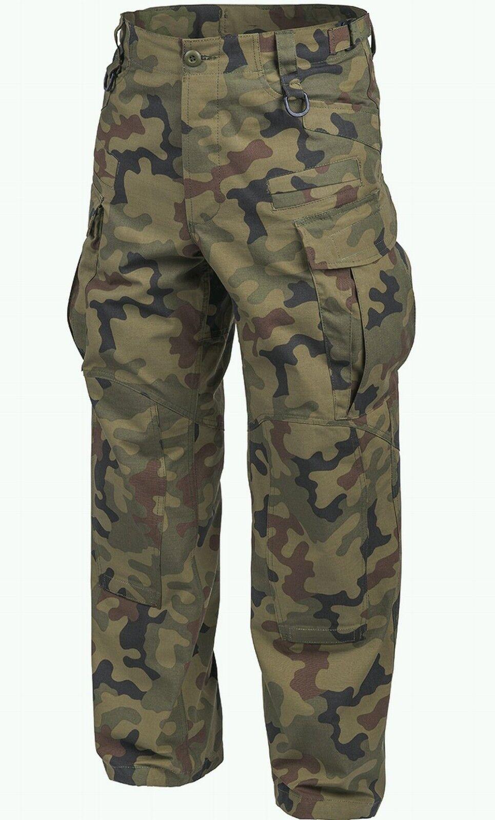 Helikon SFU NEXT Army Combat Trousers Cadet Tactical Pants US Woodland Camo XL R