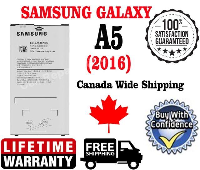New OEM Samsung A5 (2016) Battery 2900mAh EB-BA510ABE A510F,A510