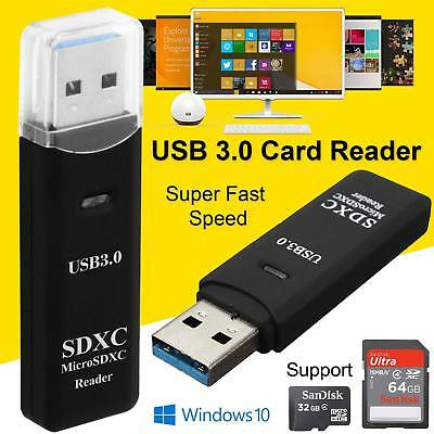 100% Vero Usb 3.0 Ad Alta Velocità 2 In 1 Lettore Di Schede Di Memoria Flash Adattatore Micro Sd Sdxc Tf Uk-mostra Il Titolo Originale Long Performance Life