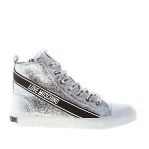 LOVE MOSCHINO women shoes Silver