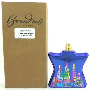 Bond-No-9-New-York-Nights-3-3-oz-Eau-De-Parfum-Spray-Tester-Never-used-No-Cap