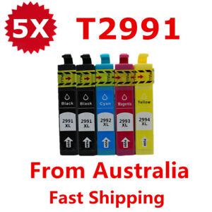 5x 29 XL 29XL T29XL Ink For Epson expression Home XP235 XP332 XP335 XP245 XP 442